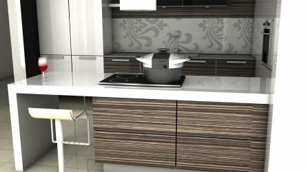 Termohrnec v kuchyni